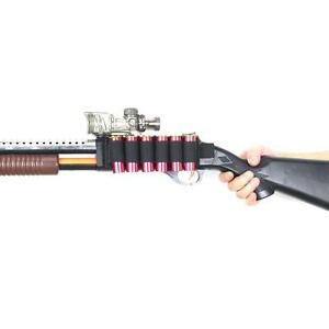 Details about Tactical 6 Rounds Shotgun Shell Holder Card Strip w/ Adhesive  Back for 12 Gauge