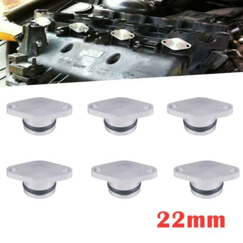 6X 22MM  Diesel Swirl Flap Blanks Repair FOR BMW 320d 330d 520d 525d 530d 730d