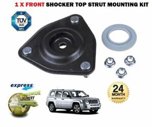 FOR JEEP PATRIOT 2.0 2.2 2.4 2006--/> 2x FRONT TOP SHOCKER ABSORBER TOP MOUNTING