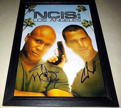 NCIS N.C.I.S Cast Signed Autographed A4 Print Photo Poster Los Angeles Orleans