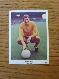 19701971 The Sun Football Swap Card 120  Terry Neill  Hull City red back - Birmingham, United Kingdom - Returns accepted within 30 days after the item is delivered, if goods not as described. Buyer assumes responibilty for return proof of postage and costs. Most purchases from business sellers are protected by the Consumer Contr - Birmingham, United Kingdom