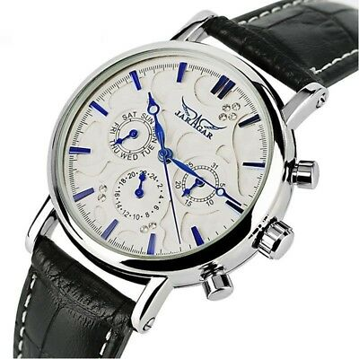 Automatisch Mechanische Uhr Echtleder Datum Damen Uhren ...