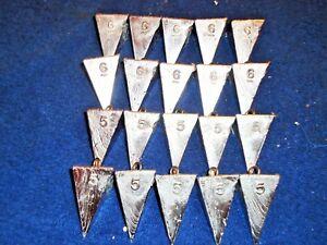 6 pc Bullet Weights Decoy Strap 6 oz