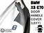 Door Handle Cover for BMW E70 X5 Black Left
