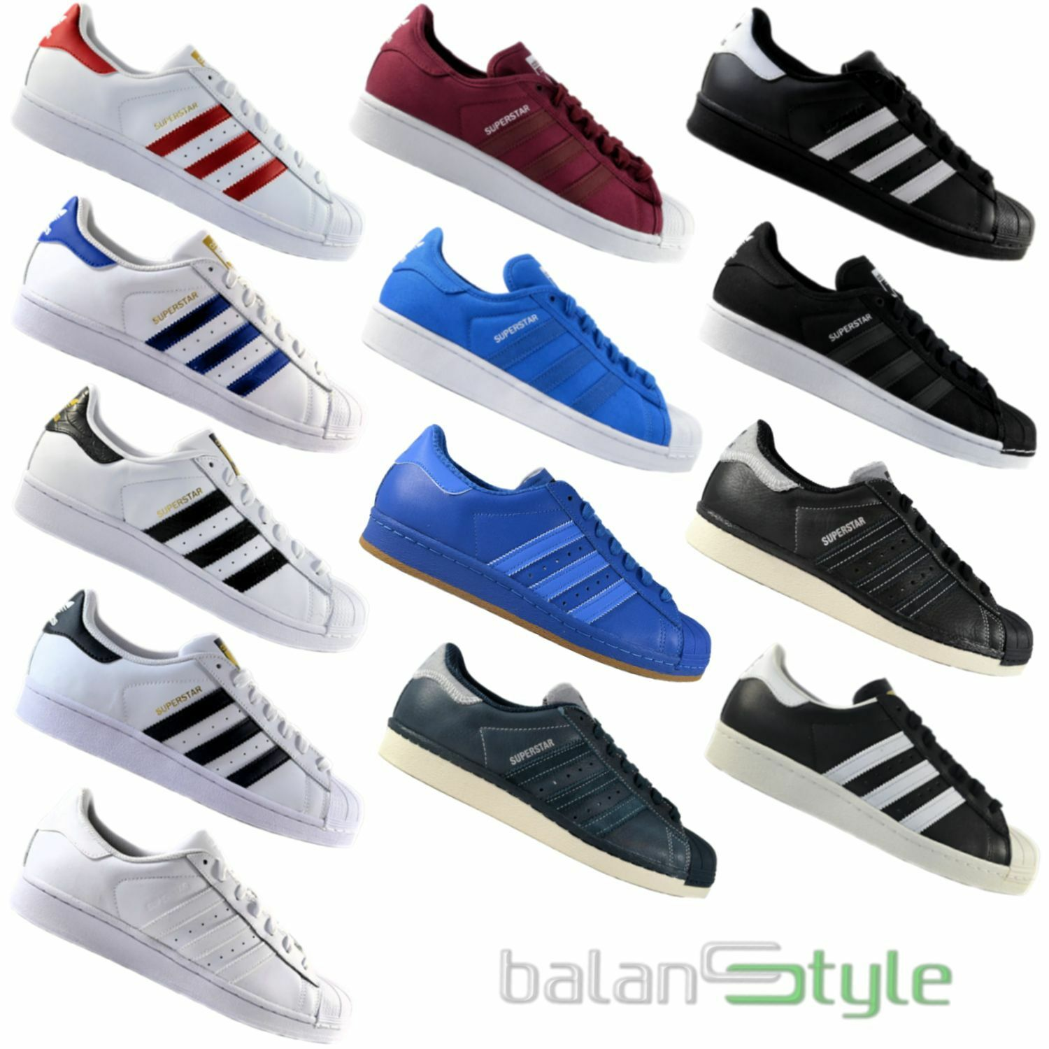 NEW ADIDAS ORIGINALS SUPERSTAR FOUNDATION / EAST classiche RIVER RIVAL SALE Scarpe classiche EAST da uomo ae40dc
