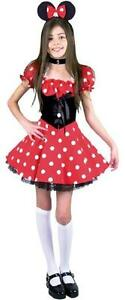 Little-Miss-Mouse-Minnie-Polka-Dot-Fancy-Dress-Up-Halloween-Child-Costume