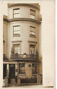POSTCARD  BRIGHTON - GUEST HOUSE ( UNIDENTIFIED ) NO 65 ? - RP - CIRCA 1910