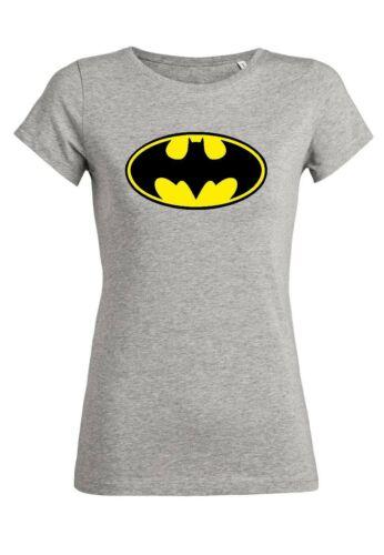 rs20 Damen T-Shirt Wants BatmanParty Design Clubwear Rundhals Bio Baumwolle