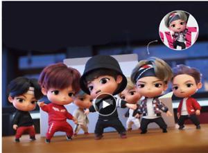 7pcs/set BTS RM Jin Suga JHope Jimin V Jungkook Doll Toy figure BANGTAN butter
