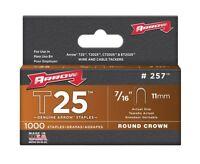 Arrow 257 25 Pack 7/16in. Genuine T25 Staples 1,000/box