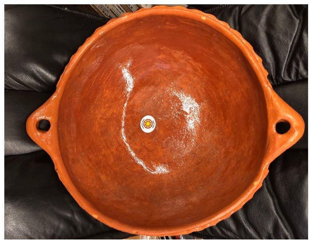 Mexico Cazo De Barro Bean Rice Mole Frijoles Carnitas Clay Wok comal Fry Cazuela