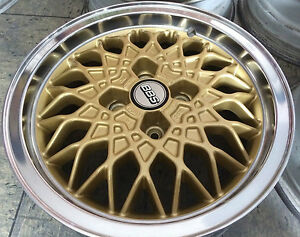 Details About Bbs 4x100 Alloy Wheels 6x15 Bmw 02 2002 Tii Turbo E21