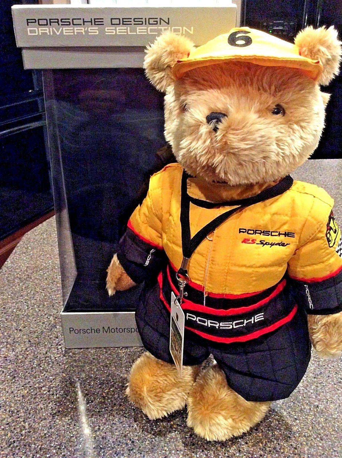 Porsche RS Spyder Collectors Plush Bear - Porsche Design Driver's Collection