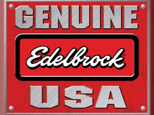 Use with 8134 Fuel Line for SBC Edelbrock 8123 Stainless