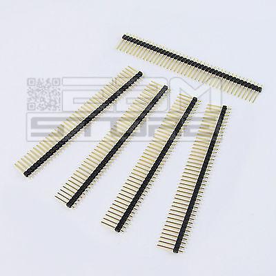5 pz Connettori strip line 40 poli maschio L=10mm - ART. AU02