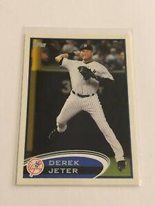 2012-Topps-Baseball-Base-Card-Derek-Jeter-New-York-Yankees