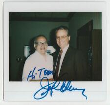 JERRY COLEMAN NY YANKEES HOF SIGNED POLAROID PHOTO AUTOGRAPH JSA DECEASED 2014