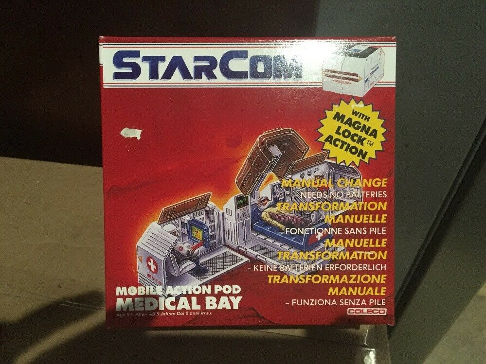 Estrellacom Medical Bay móvil acción Pod, y en caja sellada, sellado de fábrica, caso fresco