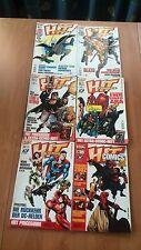 HIT COMICS # 5-6-13-22-26-30 Dinos DC - Superhelden  1998