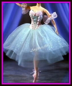 Pink and blue Ballerina dress fits model muse silkstone royalty Barbie