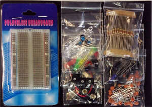 Electronic-Project-Starter-Kit-SPECIAL-EDITION-Raspberry-Pink-LED-039-s-Pi-wires