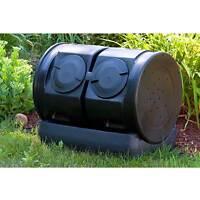 Compost Wizard Dueling Tumbler / Barrel- Garden Composter For Composting- 7 Ft