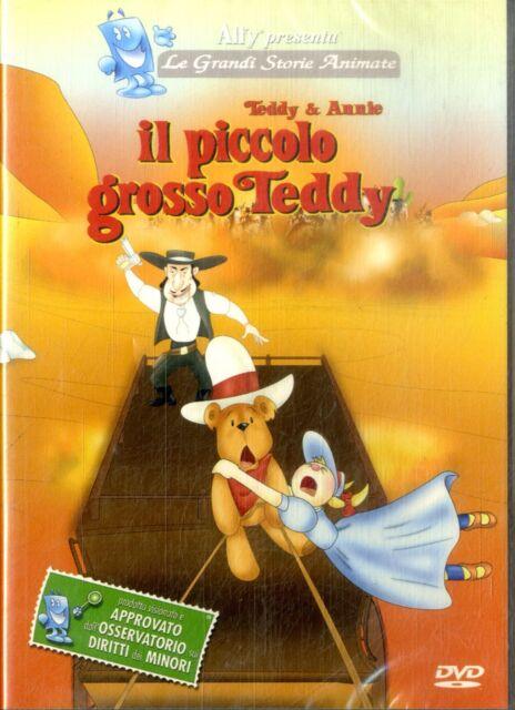 IL PICCOLO GROSSO TEDDY - DVD Cartoons NEW Sigillato