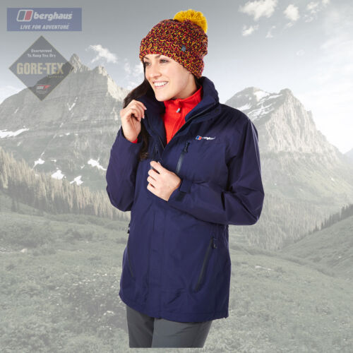 Berghaus Womens Etive Goretex Waterproof Breathable Jacket New RRP 230