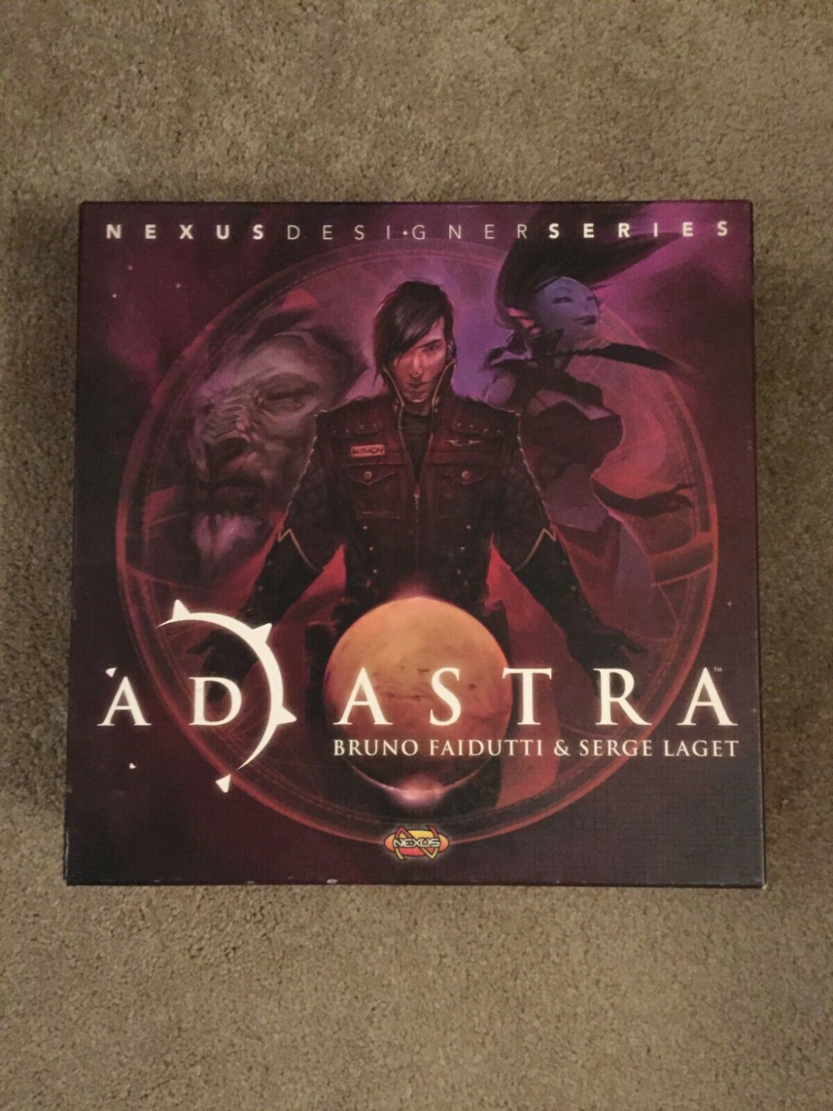 Ad Astra Board Game - Nexus Designer Series