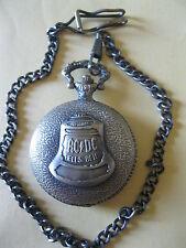 ACDC Hells Bell Quartz Pocket Watch