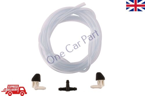 Windshield Washer Angled Nozzles Hose Set Renault 9 11 21 Old Models Universal