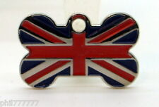 Union Jack ~ National Flag of Great Britain ~ Small pet id tags