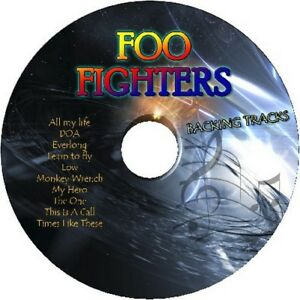 FOO-FIGHTERS-GUITAR-BACKING-TRACKS-CD-BEST-OF-GREATEST-HITS-MUSIC-PLAY-ALONG