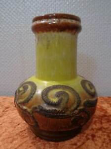 Strehla-Ceramica-Design-Vaso-Vintage-circa-1970-DDR-German-Pottery