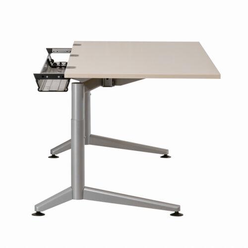 """höhenverstellbarer Schreibtisch Arbeitsplatz Bürotisch HAWORTH /""""HEXAGON/"""""""