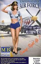 Masterbox Pin-up Girls Frauen 1 Figure Patty 1:24 (32/35) Modell-Bausatz USA kit