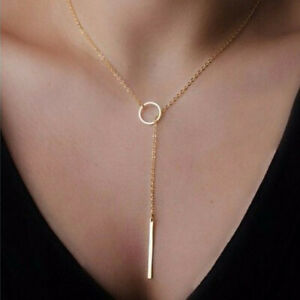 2021-Womens-Silver-Gold-Alloy-Chain-Charm-Chocker-Pendant-Long-Necklace-Torque