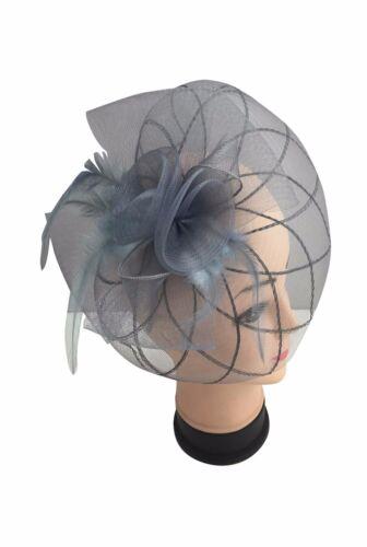 Finecy In-femmes /& femmes bandeau Clip Fleur Mariage Courses Chapeau Fascinator