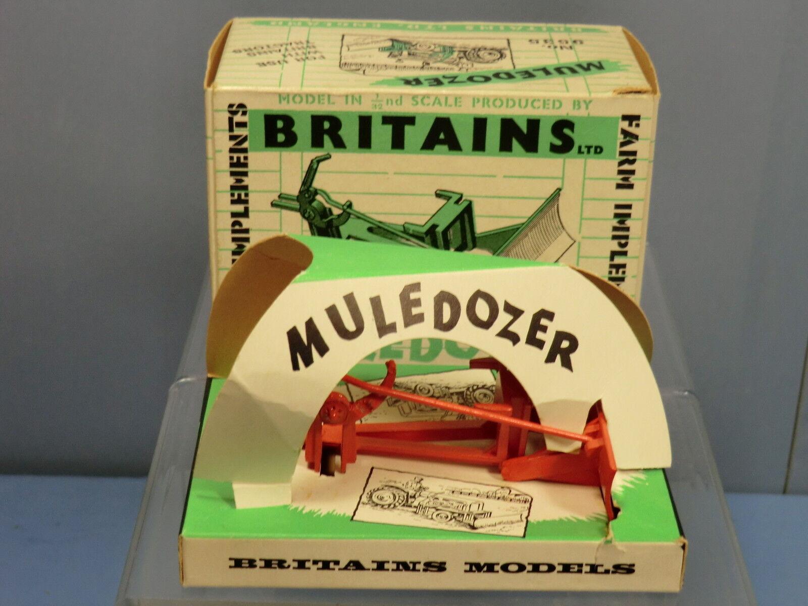 VINTAGE BRITAINS MODEL No.9535  MULEDOZER  En parfait état, dans sa boîte