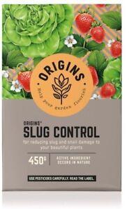 Origines Organique Naturel Jardin Slug & Snail Control Killer 450 G-free P&p-afficher Le Titre D'origine