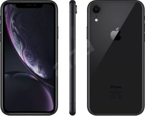 Apple-iPhone-XR-64GB-ITALIA-Black-Nero-LTE-NUOVO-Originale-Smartphone-iOS