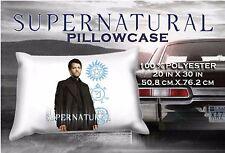 Supernatural Castiel Misha Collins  Pillowcase