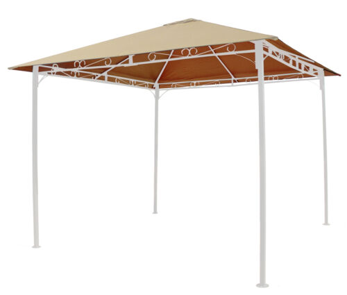 Universal Ersatzdach 293 x 293 cm  Polyester Beige mit UV Schutz,