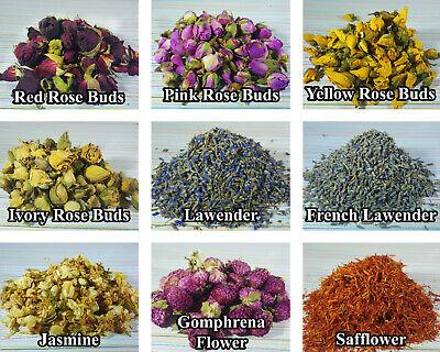 Generoso Flores Secas & Pétalos 56+ Tipos! Boda Confeti Pétalos De Rosa Lavanda Secas