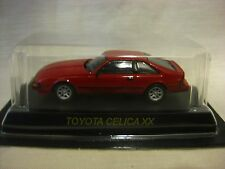 1:64 Kyosho Toyota CELICA XX Red Diecast Model Car