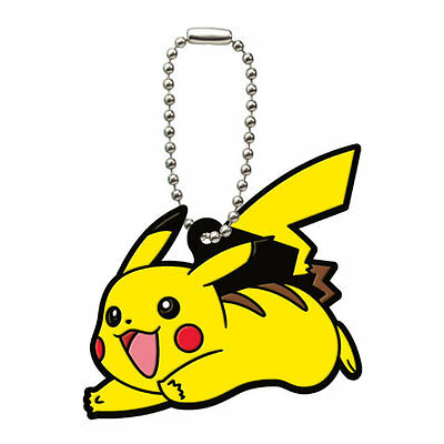 *Official* Pokemon Rubber Strap Key Chain Gashapon