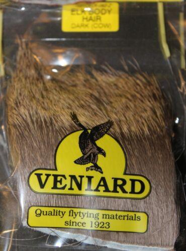 Fly Tying Elk Body Hair Veniard 8 colours