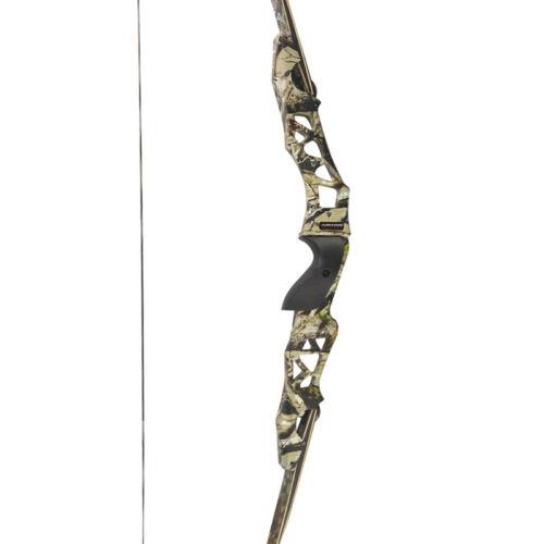 "21/"" Archery Recurve Bow Riser ILF Handle Takedown Bow Grip Aluminum Alloy F166"