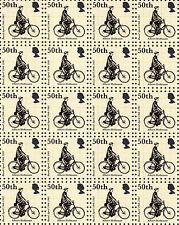 ALBERT HOFMANN 50TH ANNIVERSARY - blotter art - psychedelic goa acid artwork