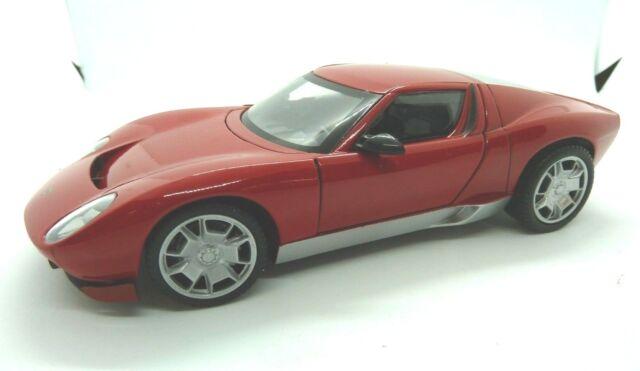 Lamborghini Miura Concept Red 1 24 Diecast Model Car By Motormax